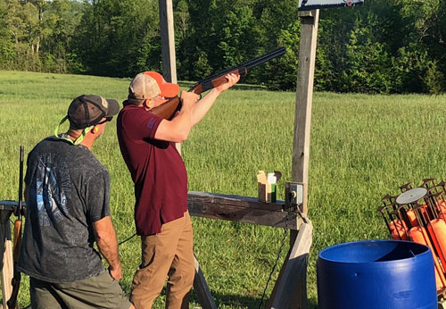 May 2018 Meeting - Shanes Sporting Clays